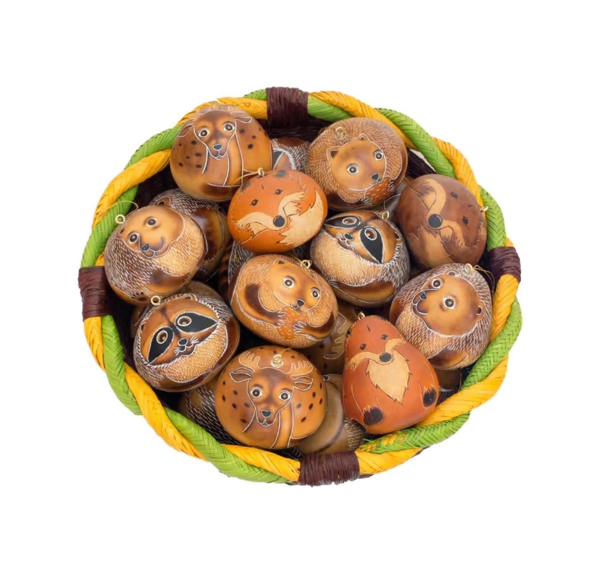 Lucuma Forest Gourd Ornament