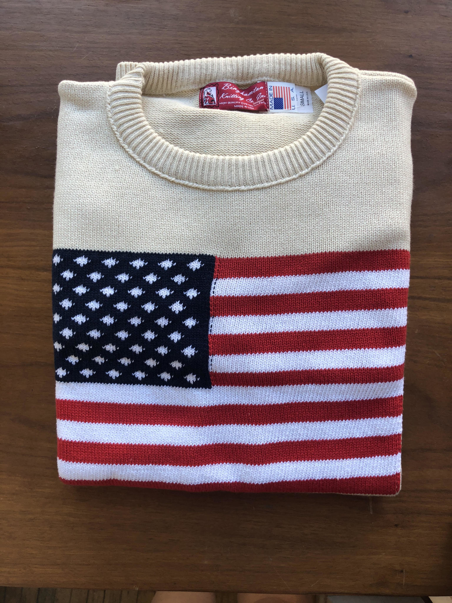 Green 3 Apparel Unisex Flag Pullover Sweater