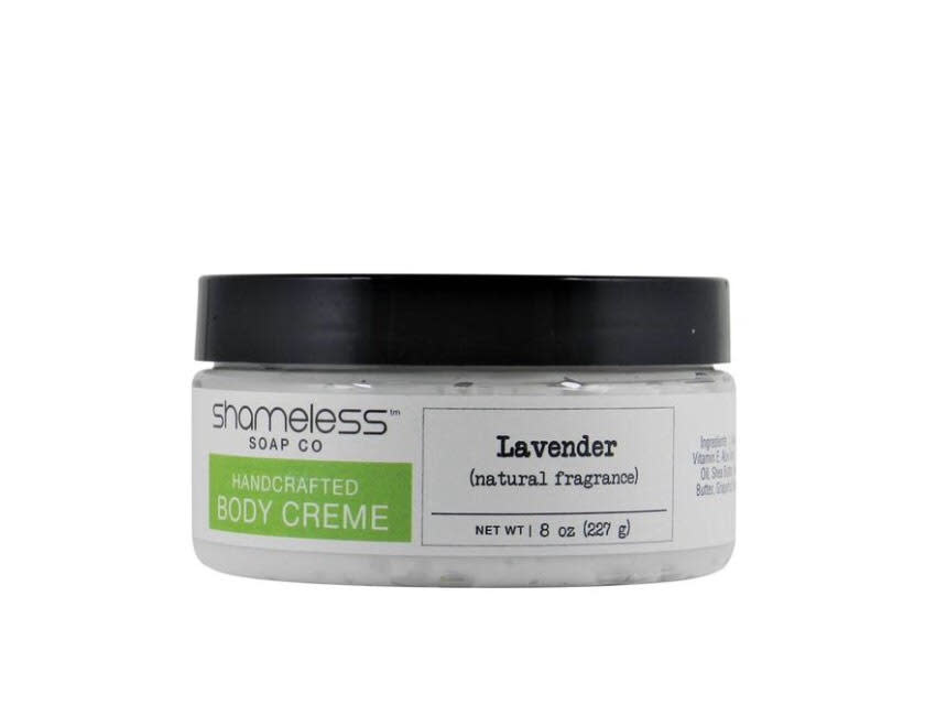 Shameless Soap Co Lavender Body Creme