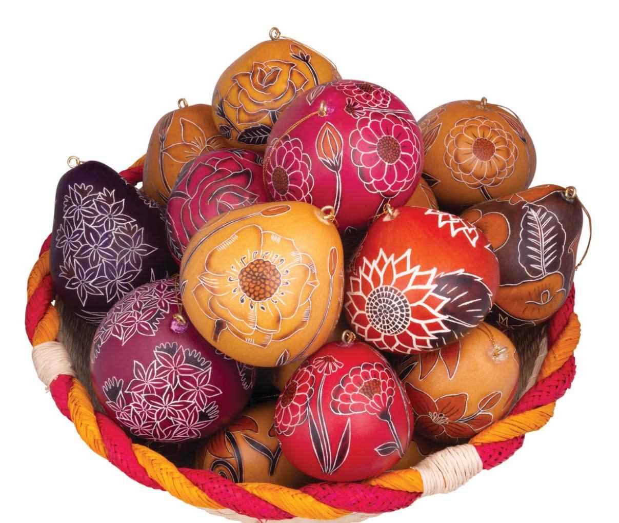 Lucuma Flower Gourd Ornament