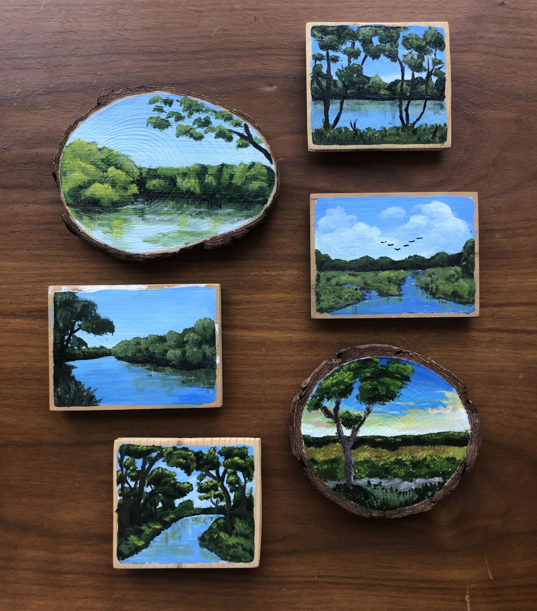 Hand Painted Magnet
