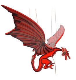 Tulia's Artisan Gallery Large Red Dragon Mobile