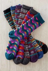 Green 3 Apparel Fair Indigo Alpaca Socks