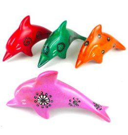 Global Crafts Mini Soapstone Dolphin