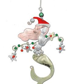 Christmas Mermaid Ornament