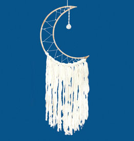 dZi Large Moon Dreamcatcher
