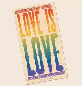 Soul Flower Love is Love Sticker