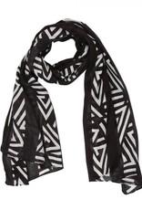 Myra Bag Authentic Black Scarf