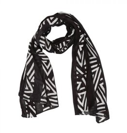 Myra Bag Authentic Black Scarf