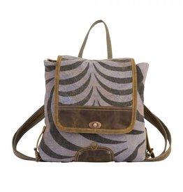 Myra Bag Grey Tranquility Backpack