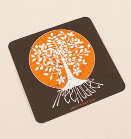 Soul Flower Tree Hugger Sticker