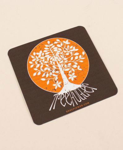 Soul Flower Tree Hugger Sticker