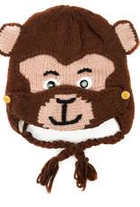 Minga Imports Kids Monkey Hat with Facemask