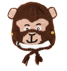 Minga Imports Kids Monkey Hat with Facemask