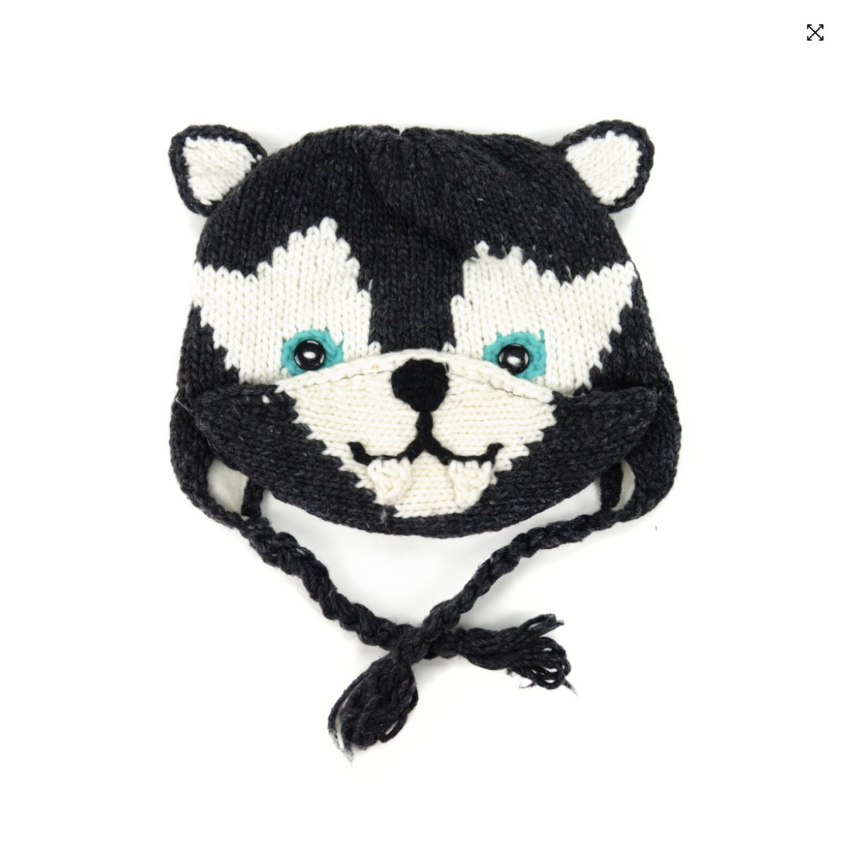 Minga Imports Kids Wolf Hat with Facemask