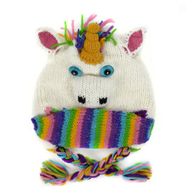 Minga Imports Kids Unicorn Hat with Facemask