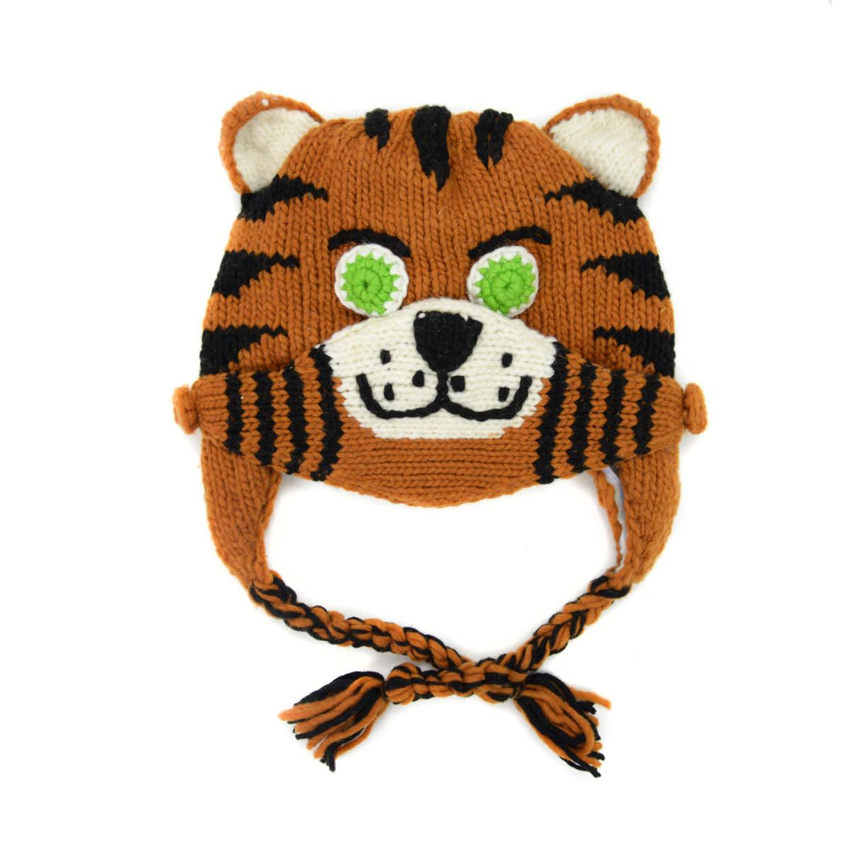 Minga Imports Kids Tiger Hat with Mask