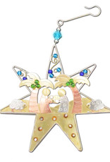 Star Nativity Ornament