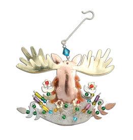 Mort the Moose Ornament