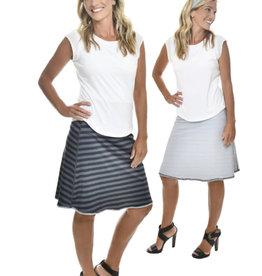 Stripes & Droplets Reversible Sport Skirt