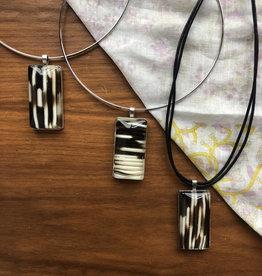Ziggywear Rectangle Resin Necklace