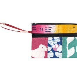 Global Mamas TS Assorted Organic Zip Wristlet