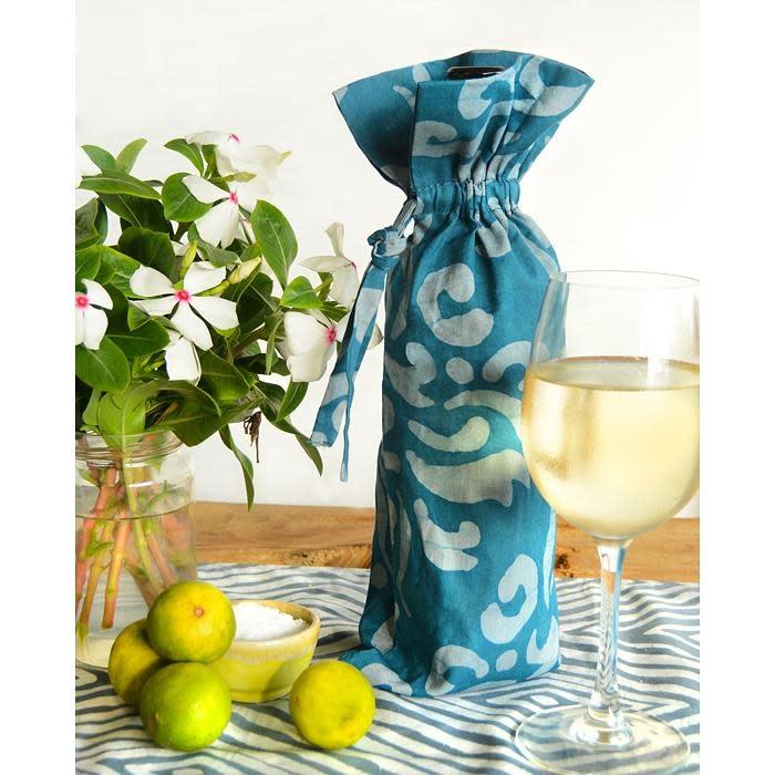 Global Mamas TS Batik Wine Bag