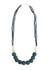 Global Mamas TS Abacus Necklace Teal