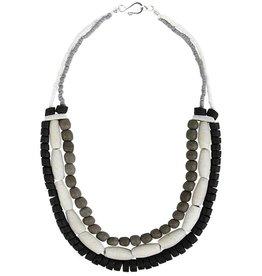 Global Mamas TS Manye Necklace Silver