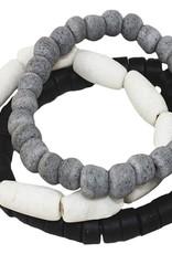 Global Mamas TS Manye Stacking Bracelet Silver