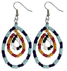Global Mamas TS Namib Earrings Multicolor