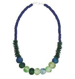 Global Mamas TS Open Seas Necklace Blue