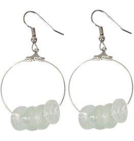 Global Mamas TS Volta Earrings White