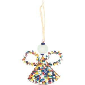 Global Mamas TS Beaded Angel Ornament
