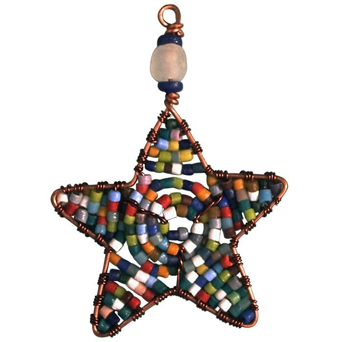 Global Mamas TS Beaded Star Ornament