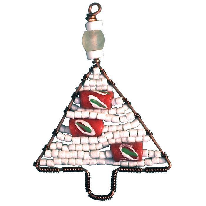 Global Mamas TS Beaded Tree Ornament