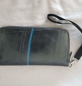 Revy Fair Trade Recycled Tire Long Zipper Wallet