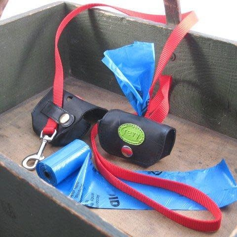 Revy Fair Trade Recycled Tire Doggy Bag Holder