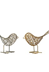 Mira Fair Trade Wrapped Wire Bird EACH