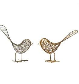 Mira Fair Trade Wrapped Wire Bird EACH