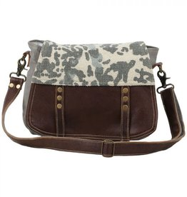 Myra Bag Camoflage Messenger Bag