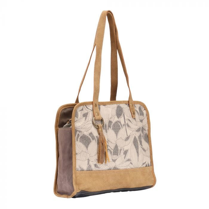Myra Bag Coppery Tote Bag