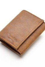 Leather Tri-Fold Wallet