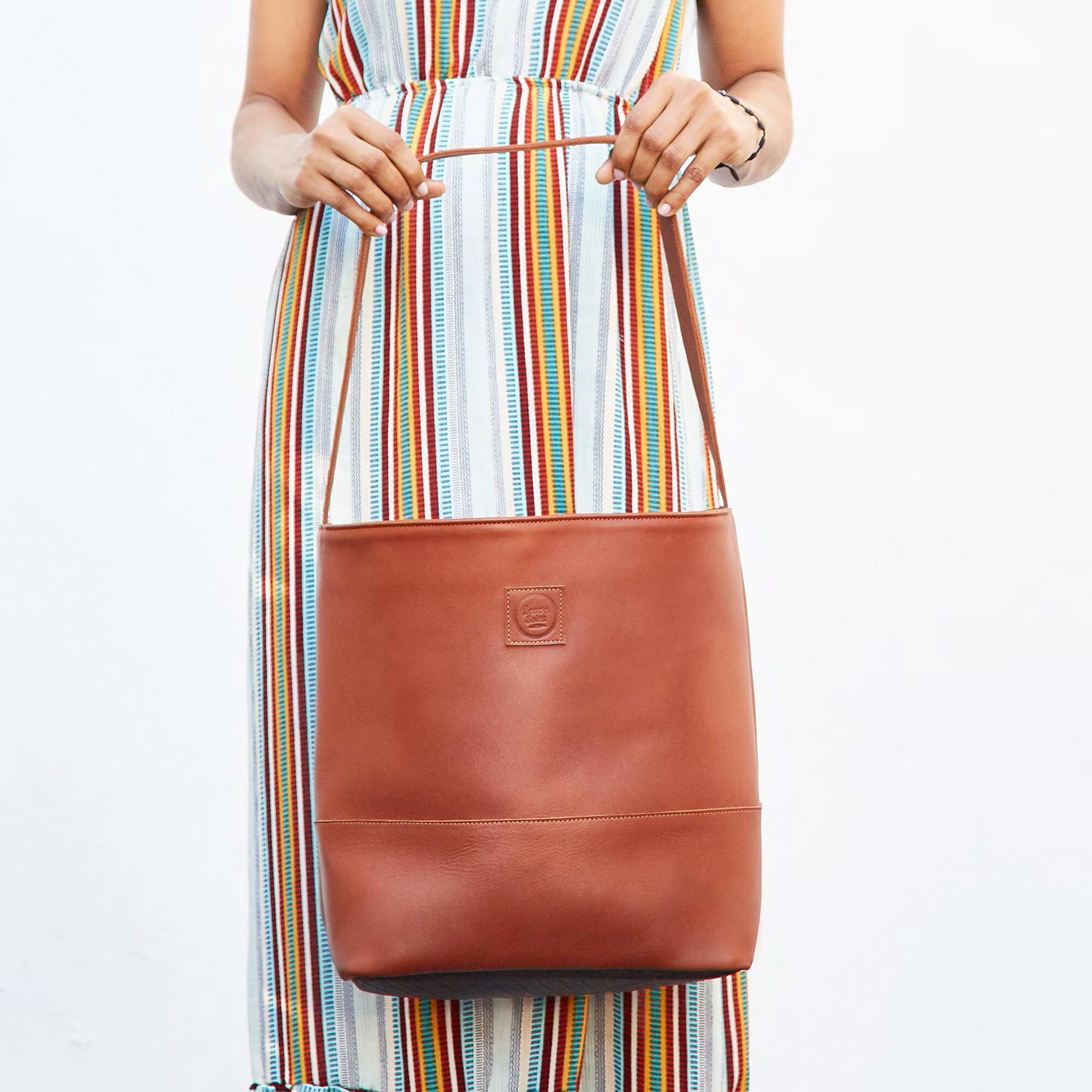 Mirabal Leather Tote