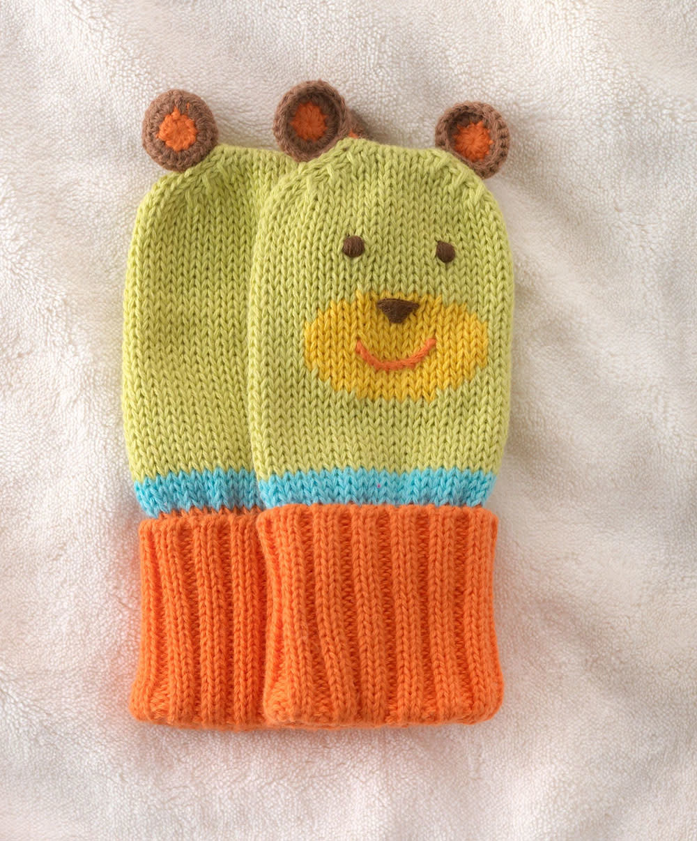 Green 3 Apparel Organic Cotton Knit Mittens