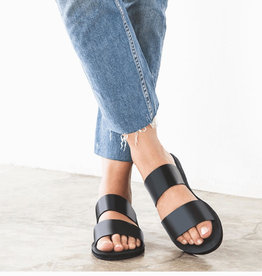 Ophelia Leather Slide Sandal