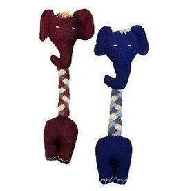 Upavim Crafts Long Neck Elephant Dog Toy