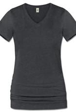 Soul Flower Recycled Eco V-Neck T-Shirt