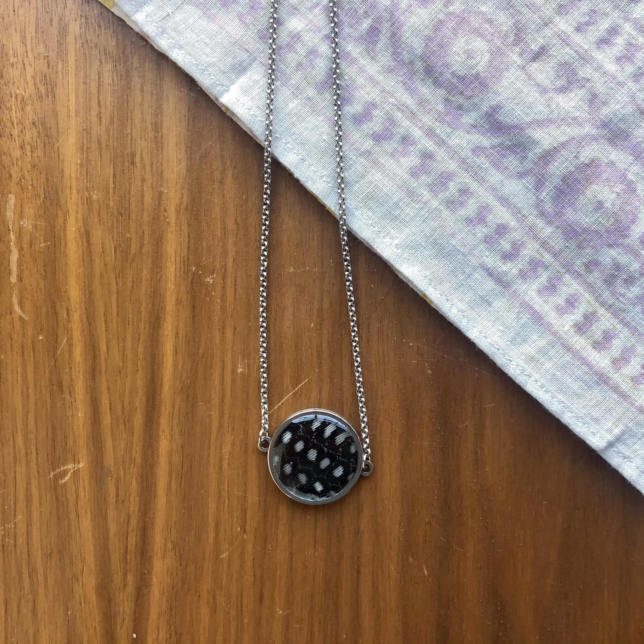 Ziggywear Guinea Feather Chain Necklace