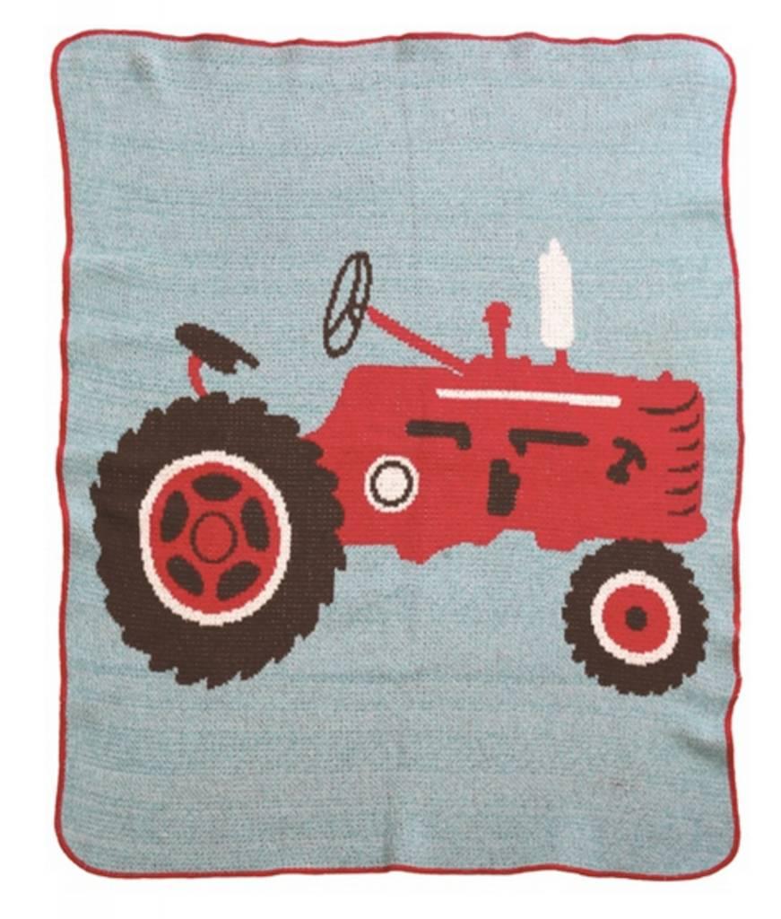 Green 3 Apparel Tractor Jr. Throw